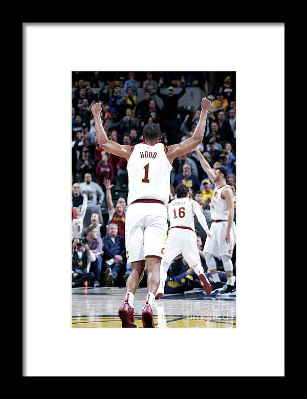 Nba Pro Basketball Framed Print featuring the photograph Rodney Hood by Ron Hoskins