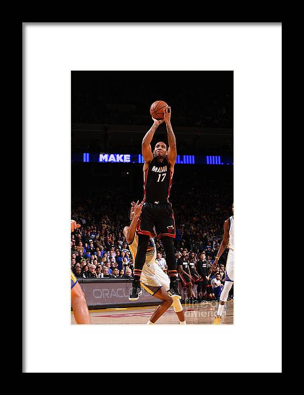 Nba Pro Basketball Framed Print featuring the photograph Rodney Mcgruder by Noah Graham