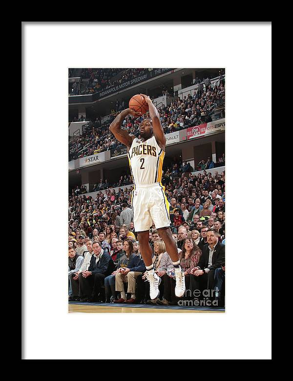 Nba Pro Basketball Framed Print featuring the photograph Rodney Stuckey by Ron Hoskins