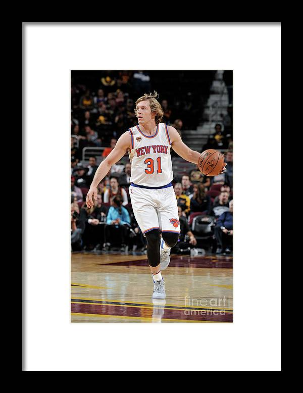 Nba Pro Basketball Framed Print featuring the photograph Ron Baker by David Liam Kyle