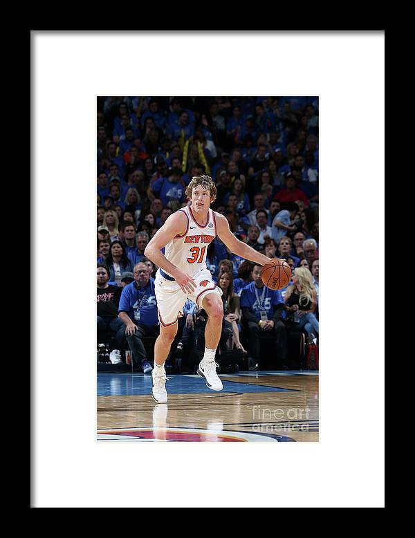 Nba Pro Basketball Framed Print featuring the photograph Ron Baker by Layne Murdoch