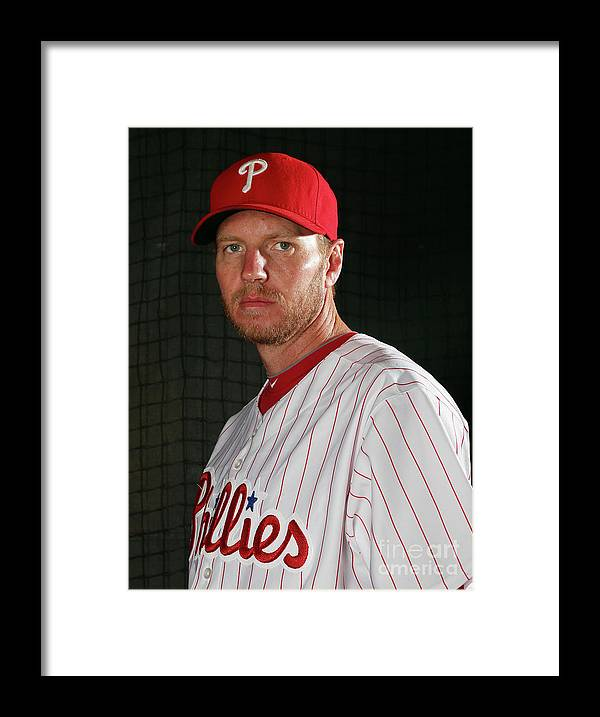 People Framed Print featuring the photograph Roy Halladay by Elsa