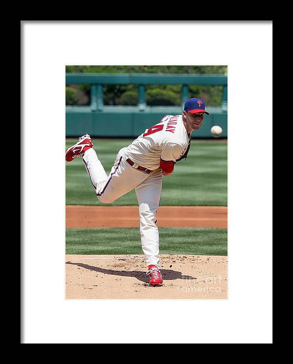 People Framed Print featuring the photograph Roy Halladay by Jim Mcisaac