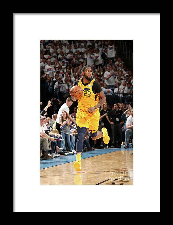 Playoffs Framed Print featuring the photograph Royce O'neale by Layne Murdoch