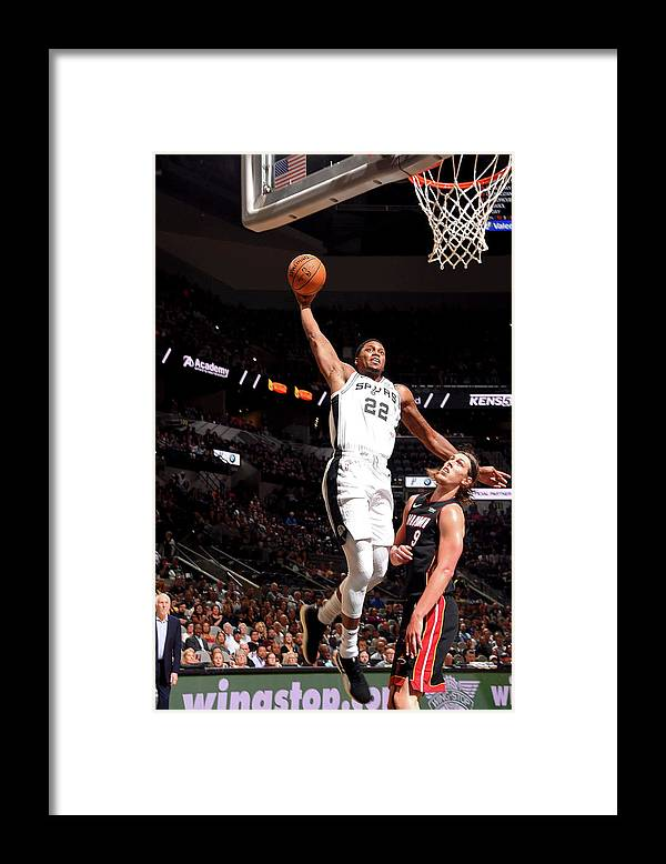 Nba Pro Basketball Framed Print featuring the photograph Rudy Gay by Bill Baptist