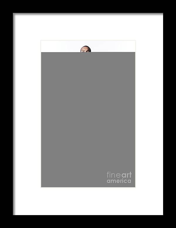 Nba Pro Basketball Framed Print featuring the photograph Rudy Gobert by Atiba Jefferson