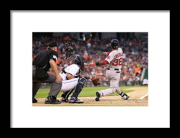 People Framed Print featuring the photograph Rusney Castillo by Leon Halip