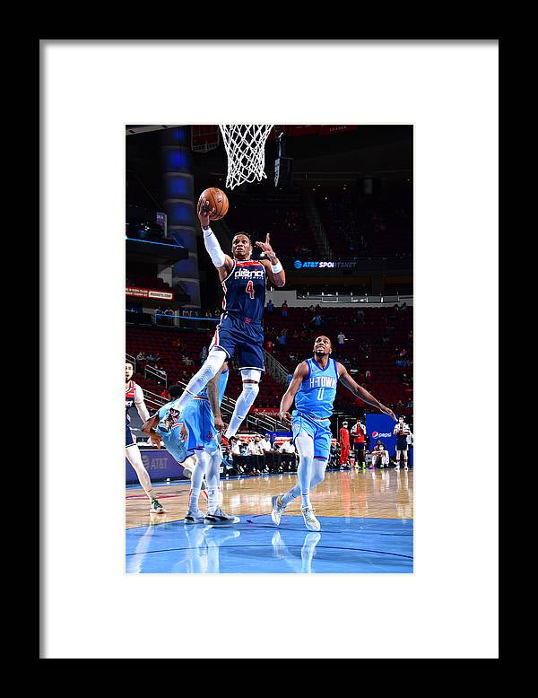 Nba Pro Basketball Framed Print featuring the photograph Russell Westbrook by Cato Cataldo
