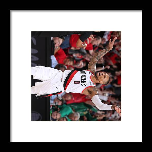 Playoffs Framed Print featuring the photograph Russell Westbrook by Sam Forencich