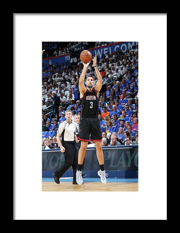 Playoffs Framed Print featuring the photograph Ryan Anderson by Layne Murdoch
