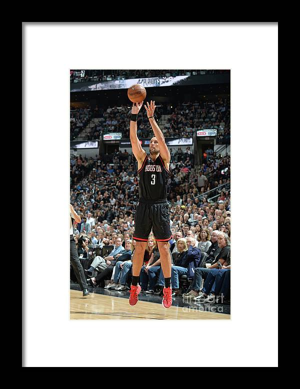 Nba Pro Basketball Framed Print featuring the photograph Ryan Anderson by Mark Sobhani