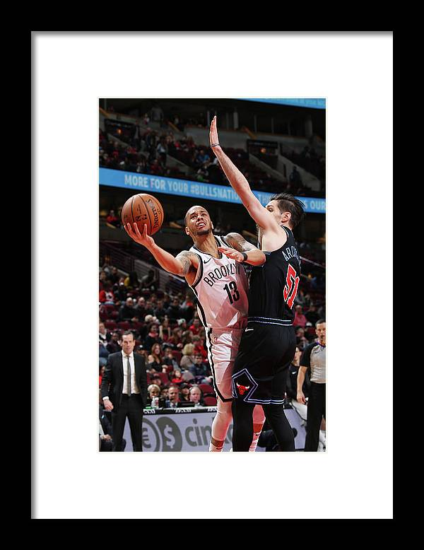 Nba Pro Basketball Framed Print featuring the photograph Ryan Arcidiacono and Shabazz Napier by Gary Dineen