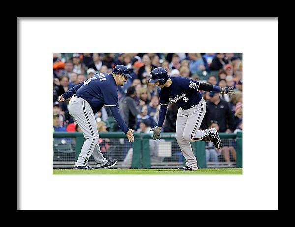 American League Baseball Framed Print featuring the photograph Ryan Braun by Duane Burleson