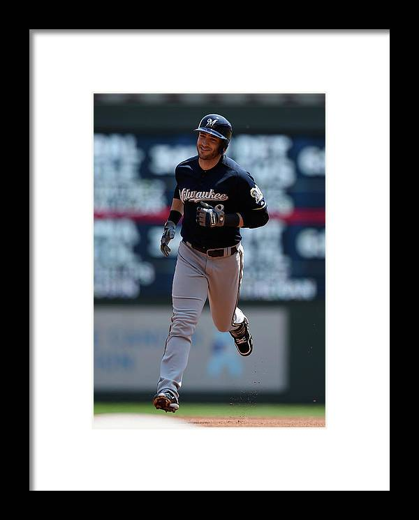 People Framed Print featuring the photograph Ryan Braun by Hannah Foslien