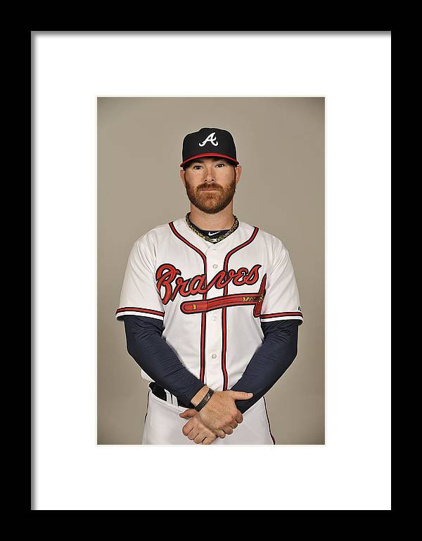 Media Day Framed Print featuring the photograph Ryan Doumit by Tony Firriolo