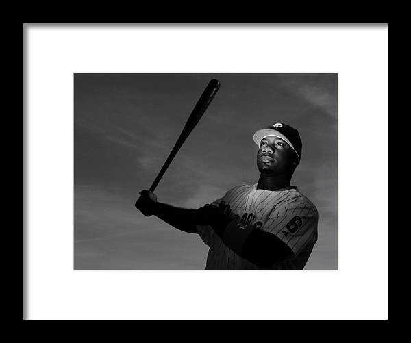 Media Day Framed Print featuring the photograph Ryan Howard by Al Bello
