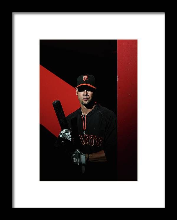 Ryan Vogelsong Framed Print featuring the photograph Ryan Vogelsong by Christian Petersen