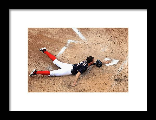 Ryan Zimmerman - Baseball Player Framed Print featuring the photograph Ryan Zimmerman by Rob Carr