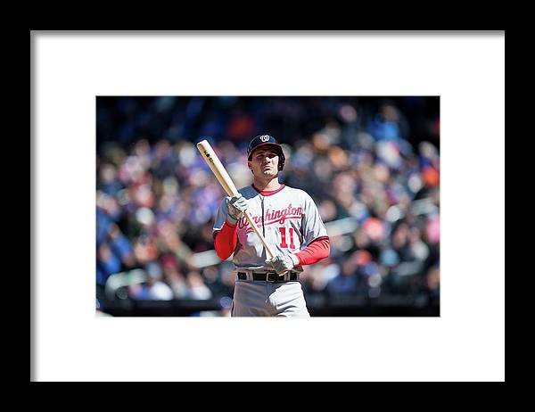 East Framed Print featuring the photograph Ryan Zimmerman by Rob Tringali