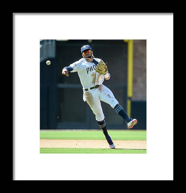Ryon Healy Framed Print featuring the photograph Ryon Healy by Denis Poroy