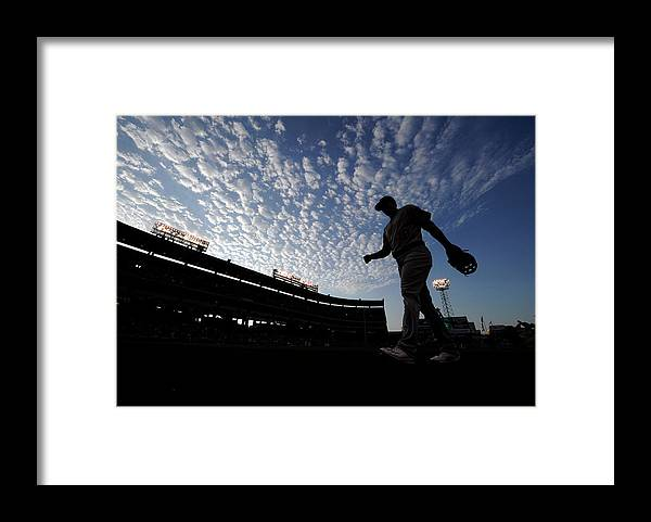 Ryon Healy Framed Print featuring the photograph Ryon Healy by Kevork Djansezian