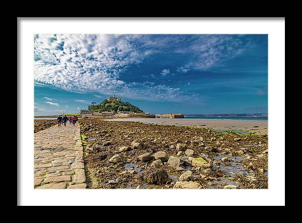 Saint Michael's Mount Cornwall by Betsy Knapp