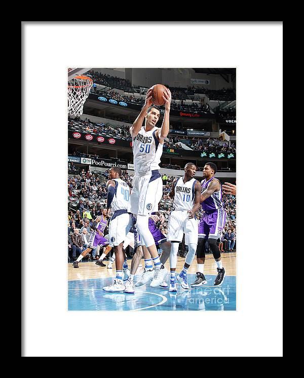 Salah Mejri Framed Print featuring the photograph Salah Mejri by Danny Bollinger
