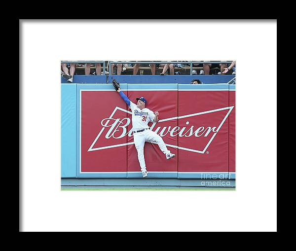 Salvador Perez Diaz Framed Print featuring the photograph Salvador Perez by Stephen Dunn