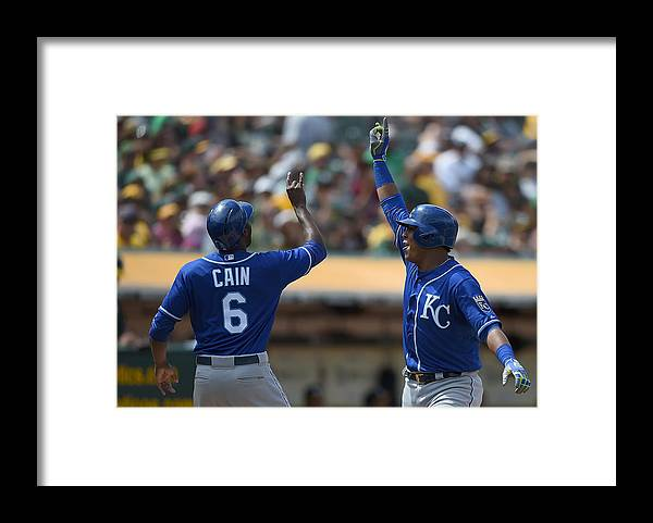 Salvador Perez Diaz Framed Print featuring the photograph Salvador Perez by Thearon W. Henderson