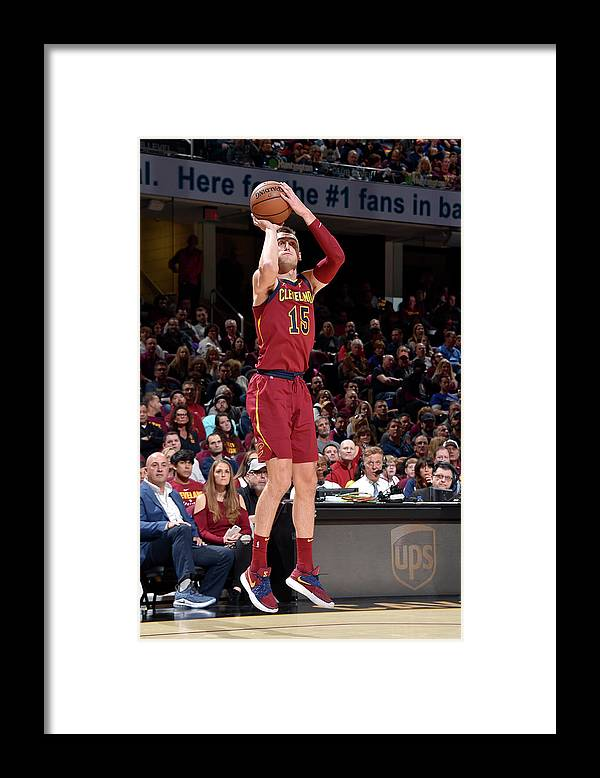 Nba Pro Basketball Framed Print featuring the photograph Sam Dekker by David Liam Kyle
