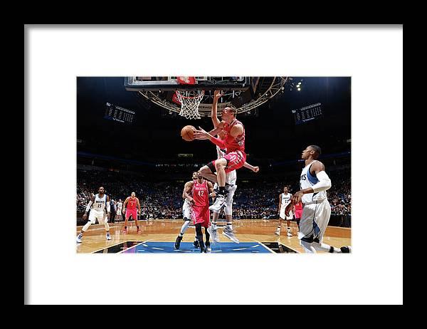 Nba Pro Basketball Framed Print featuring the photograph Sam Dekker by David Sherman