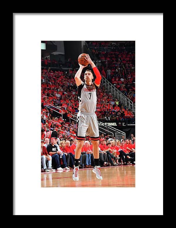 Playoffs Framed Print featuring the photograph Sam Dekker by Jesse D. Garrabrant