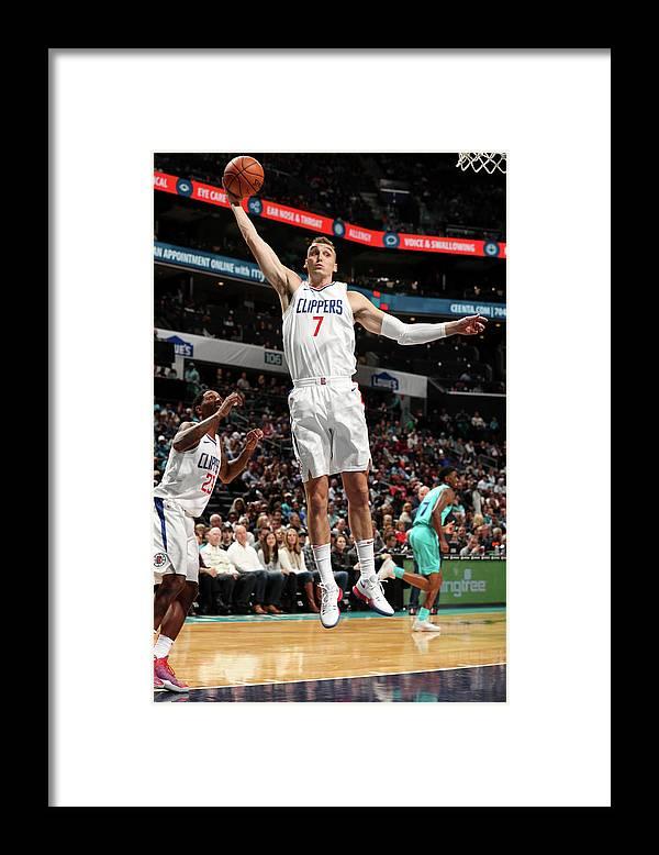 Nba Pro Basketball Framed Print featuring the photograph Sam Dekker by Kent Smith
