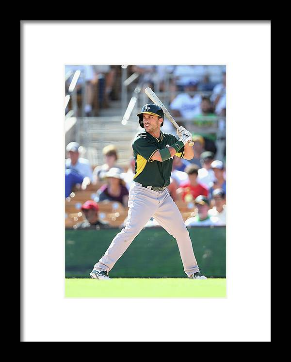American League Baseball Framed Print featuring the photograph Sam Fuld by Christian Petersen