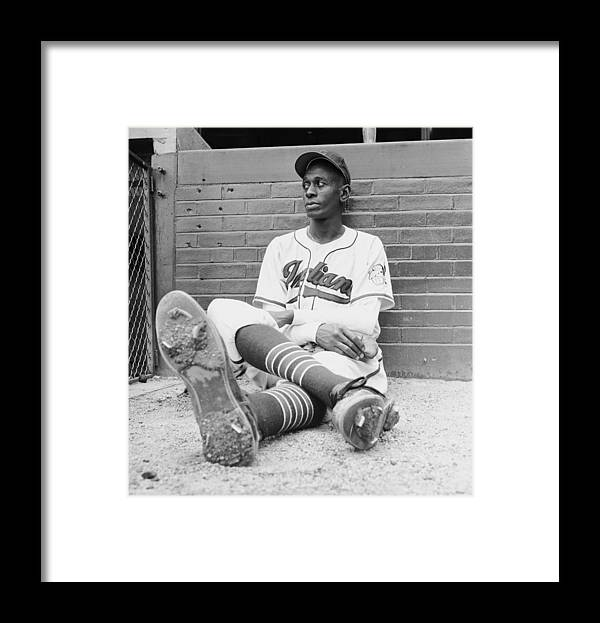 Timeincown Framed Print featuring the photograph Satchel Paige by George Silk