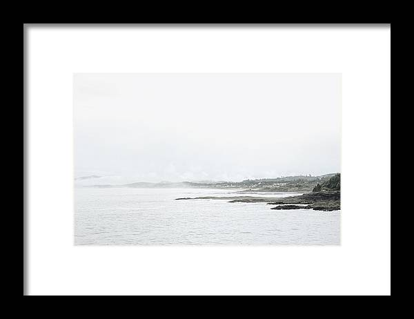 Tranquility Framed Print featuring the photograph Scenic view of sea by Sisi Zheng / FOAP