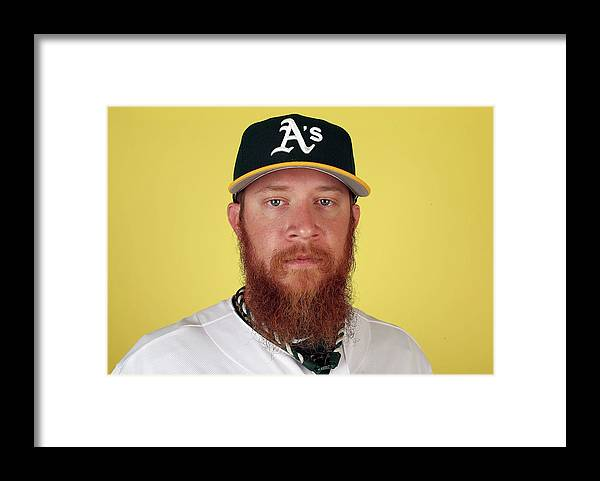 Media Day Framed Print featuring the photograph Sean Doolittle by Christian Petersen
