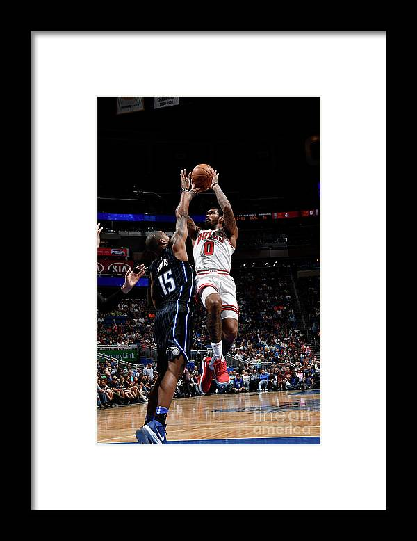 Nba Pro Basketball Framed Print featuring the photograph Sean Kilpatrick by Fernando Medina