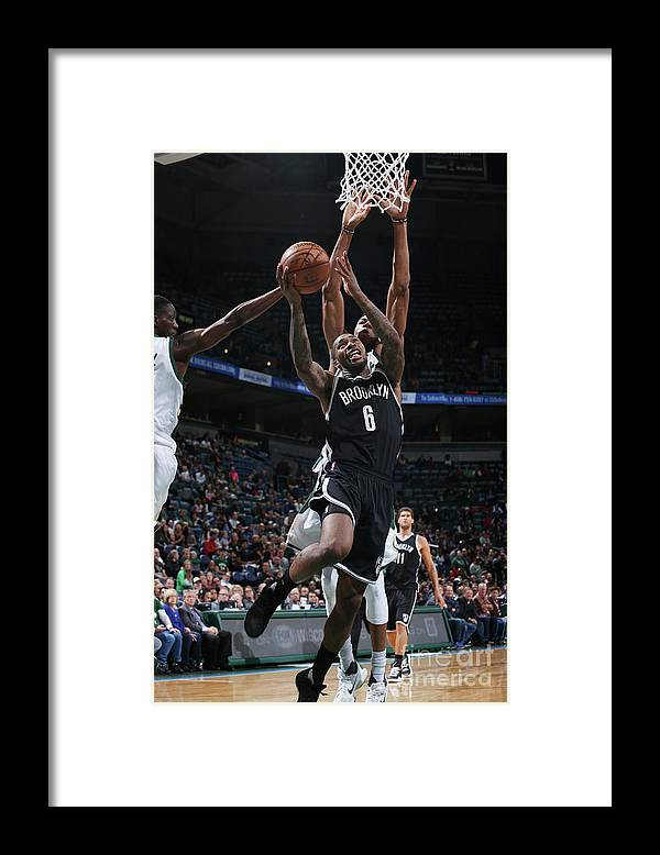 Nba Pro Basketball Framed Print featuring the photograph Sean Kilpatrick by Gary Dineen