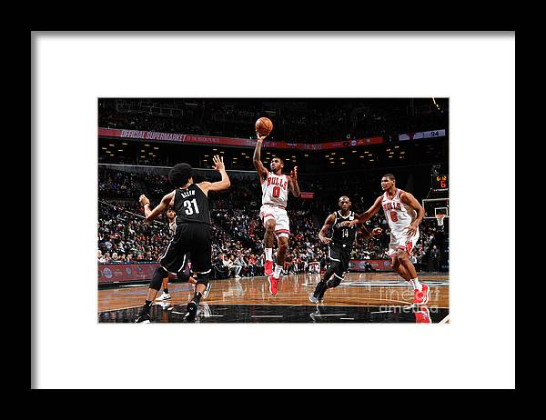 Sports Ball Framed Print featuring the photograph Sean Kilpatrick by Jesse D. Garrabrant