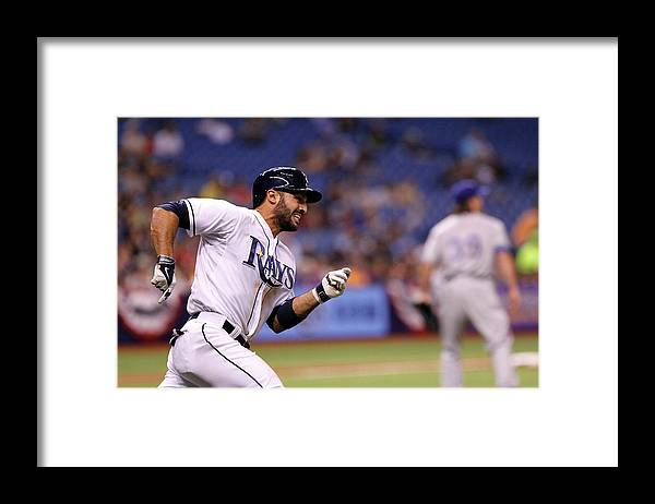 Sean Rodriguez Framed Print featuring the photograph Sean Rodriguez and Daniel Mccutchen by Brian Blanco