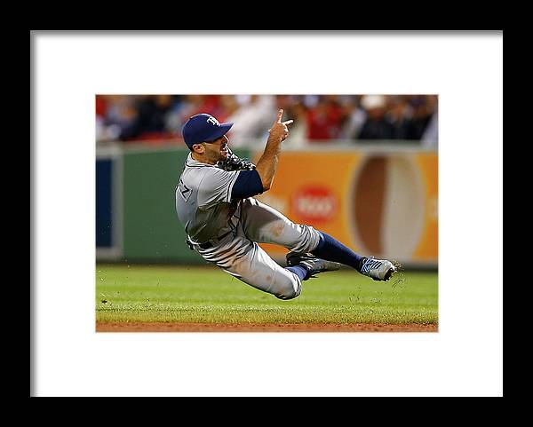 Sean Rodriguez Framed Print featuring the photograph Sean Rodriguez by Jared Wickerham