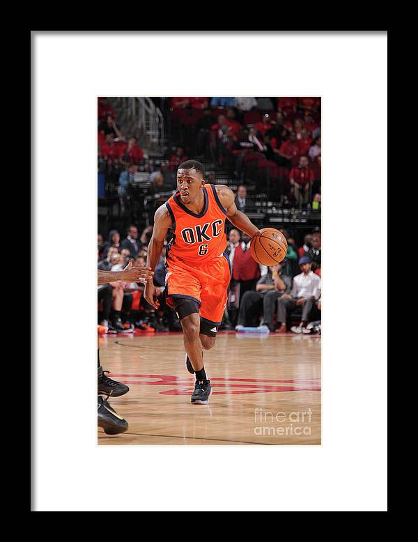 Playoffs Framed Print featuring the photograph Semaj Christon by Bill Baptist