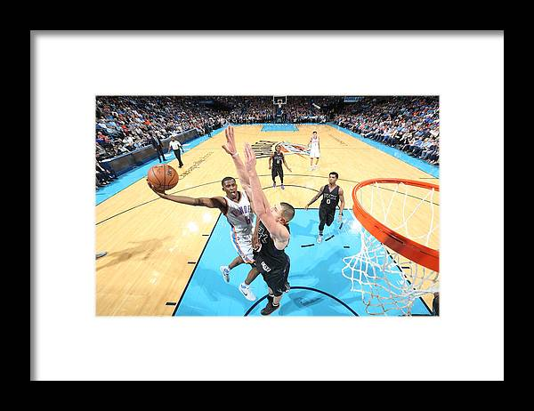 Nba Pro Basketball Framed Print featuring the photograph Semaj Christon by Joe Murphy