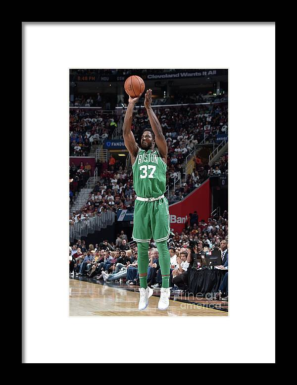Nba Pro Basketball Framed Print featuring the photograph Semi Ojeleye by David Liam Kyle