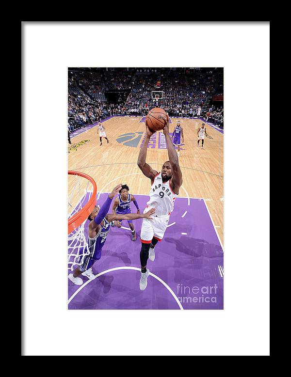 Nba Pro Basketball Framed Print featuring the photograph Serge Ibaka by Rocky Widner