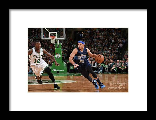 Nba Pro Basketball Framed Print featuring the photograph Seth Curry by Brian Babineau