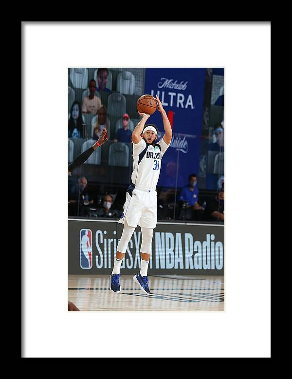 Playoffs Framed Print featuring the photograph Seth Curry by David Sherman