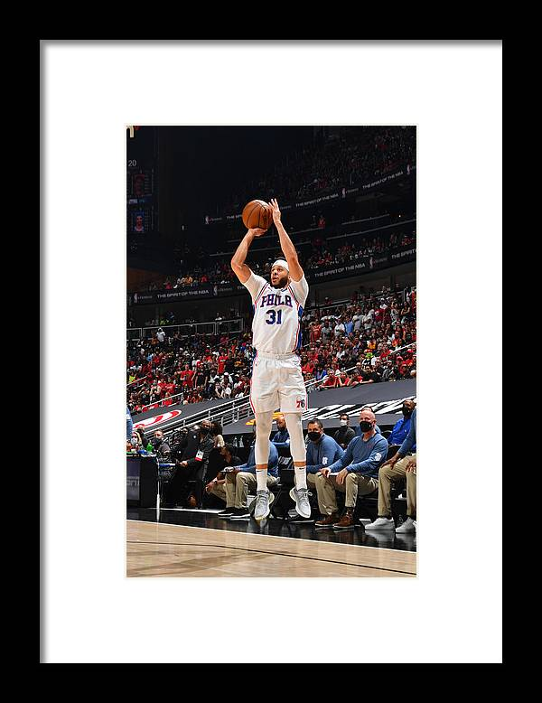 Atlanta Framed Print featuring the photograph Seth Curry by Jesse D. Garrabrant