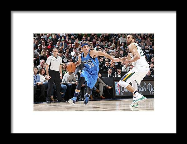 Nba Pro Basketball Framed Print featuring the photograph Seth Curry by Melissa Majchrzak